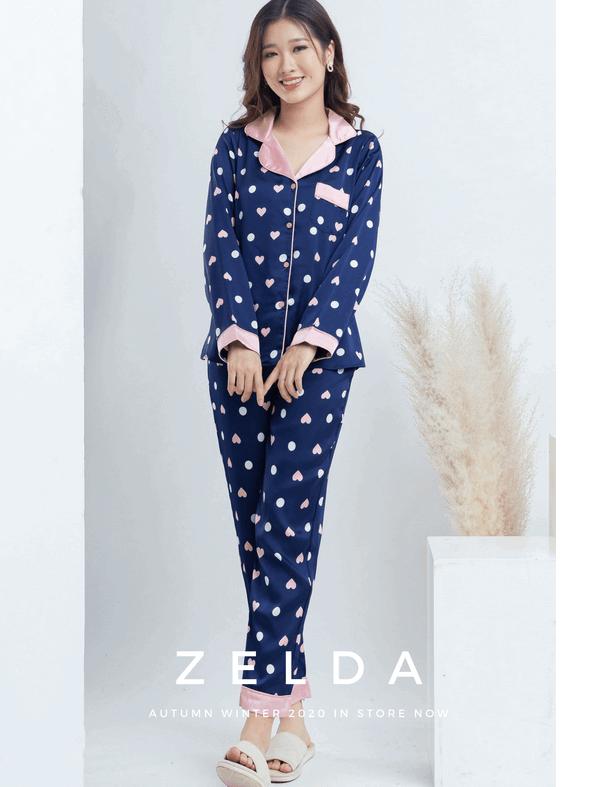 Đồ bộ pijama vải tole màu tím
