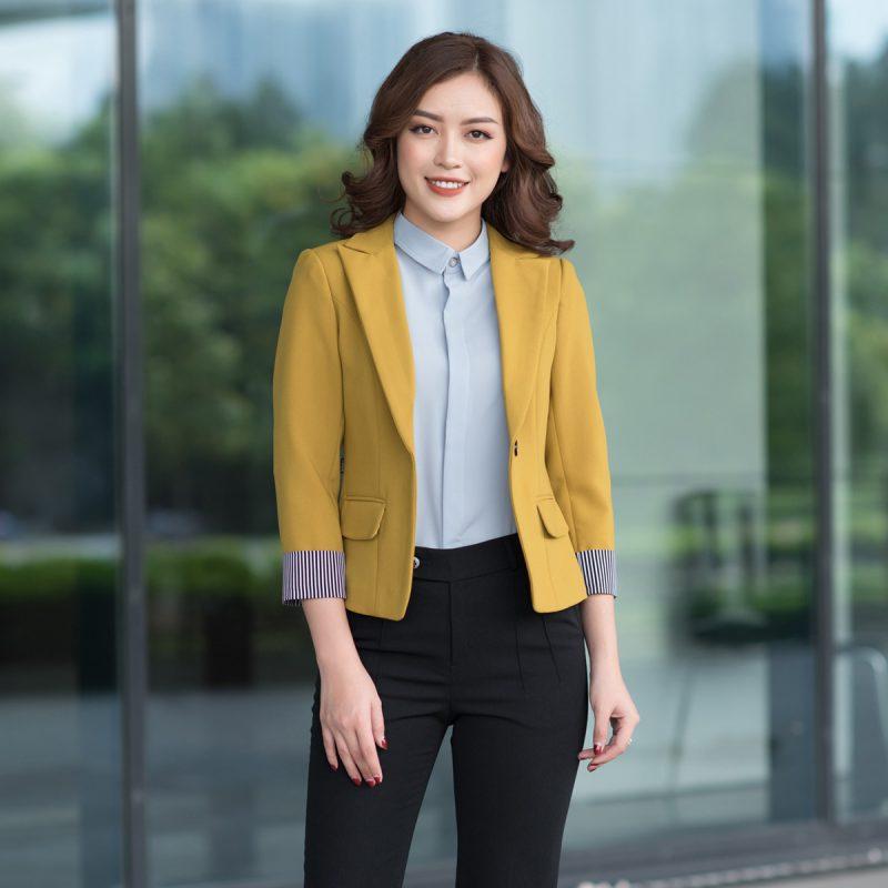 Mẫu áo đồng phục công ty đẹp tại Bắc Ninh