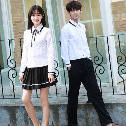 Mẫu áo sơ mi đồng phục học sinh cấp 3