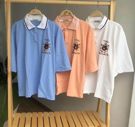 Áo đồng phục có cổ -Các màu áo lớp đẹp