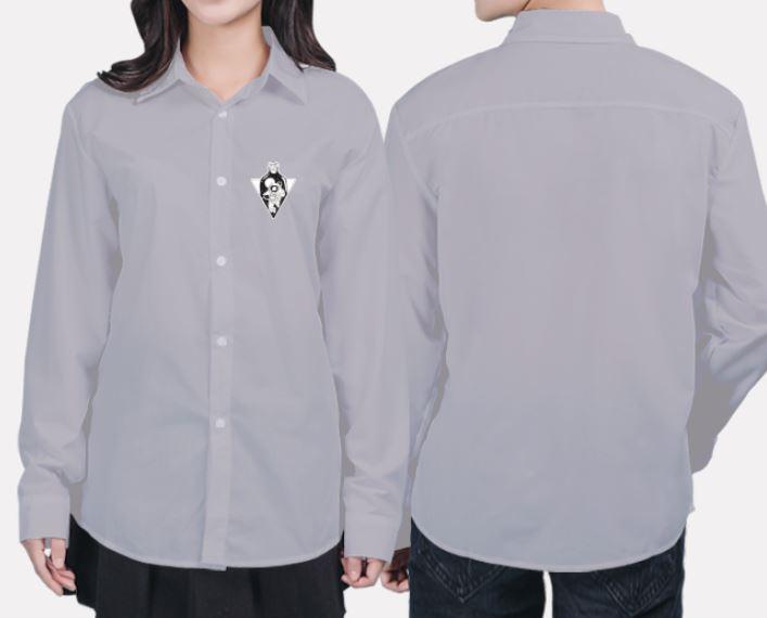 Mẫu áo nhóm màu xám khói chất