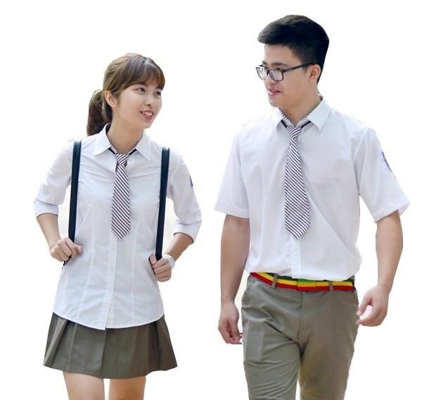áo đồng phục lớp sơ mi