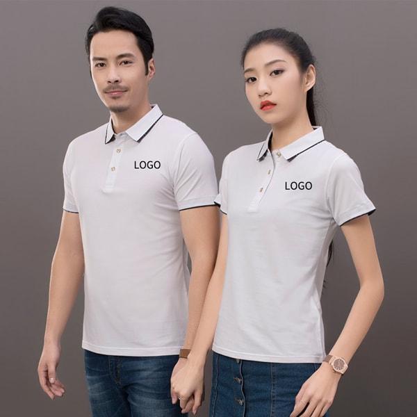 Áo thun đồng phục màu trắng