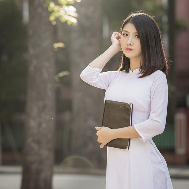 Mẫu đồng phục áo dài đẹp