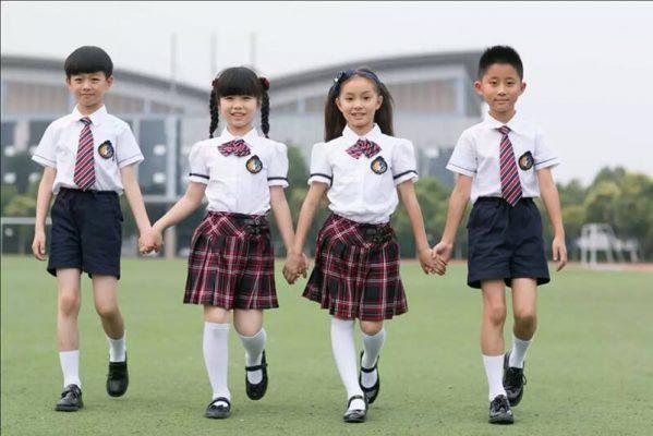 Những mẫu đồng phục học sinh tiểu học đẹp