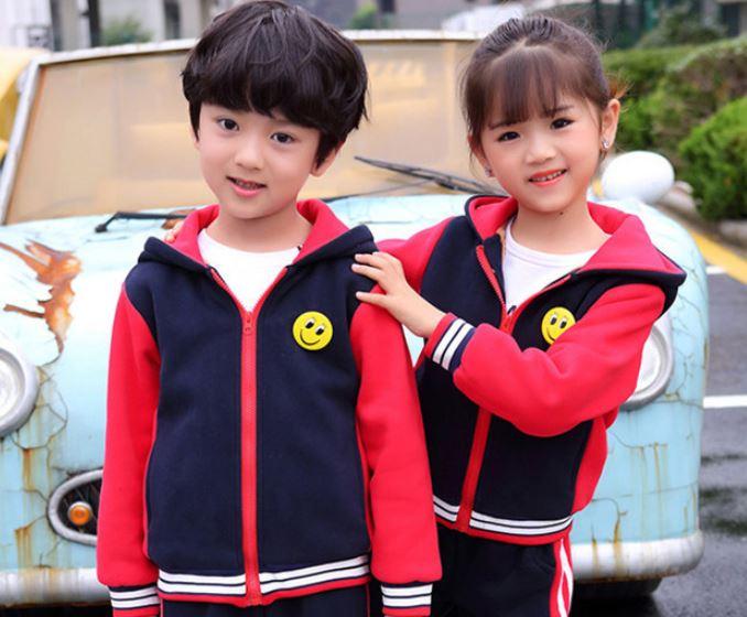 Đồ đồng phục mầm non màu đỏ