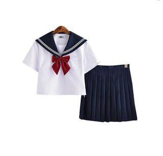 Mẫu trang phục học sinh cấp 1 theo phong cách Nhật Bản