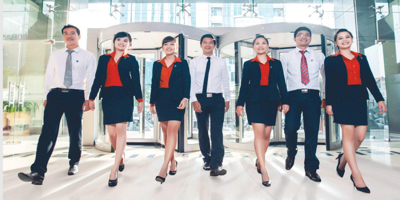 Các mẫu áo đồng phục doanh nghiệp