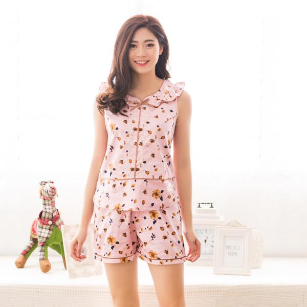 Bộ đồ mặc nhà mùa hè cao cấp cho nữ