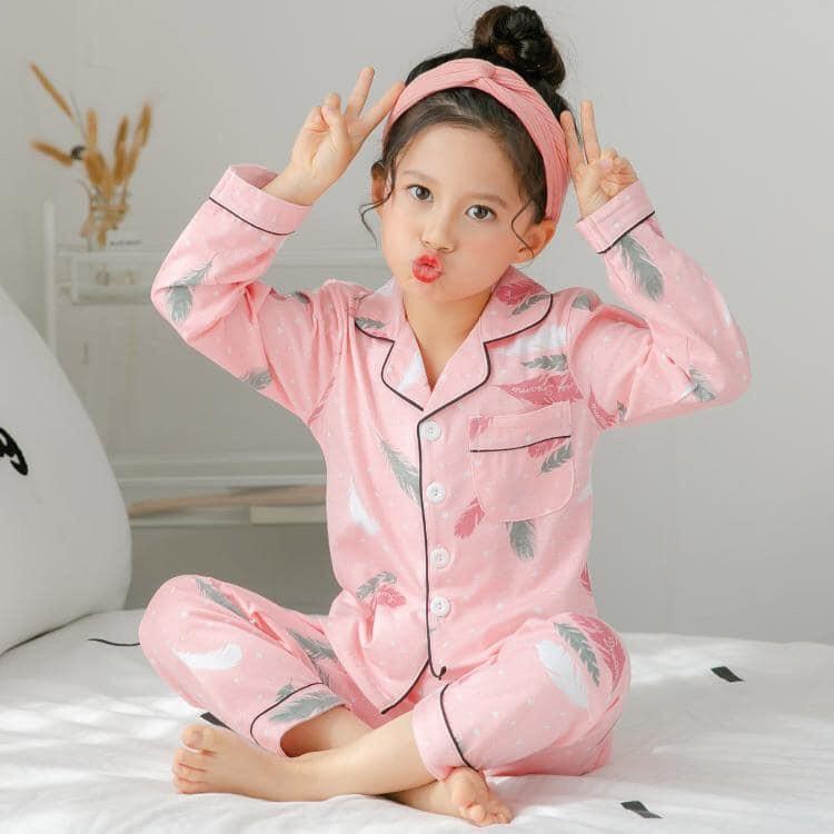 Mẫu đồ ngủ pijama cho bé dễ thương