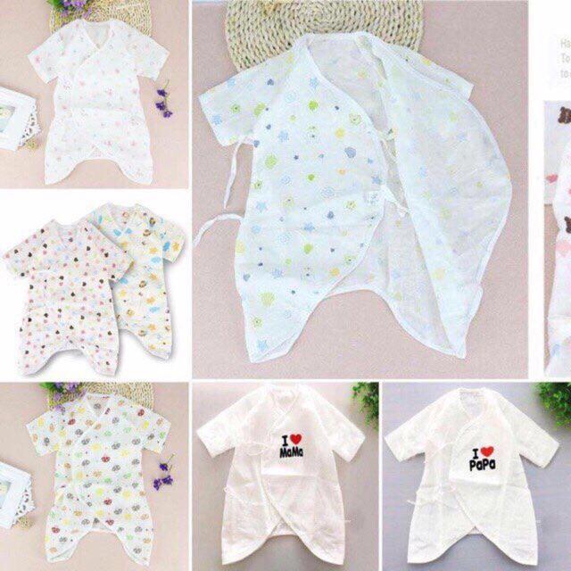 Những mẫu pijama trẻ sơ sinh đẹp