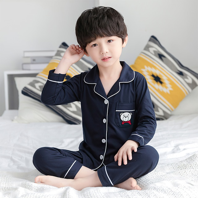 Mẫu đồ ngủ pijama cho bé trai