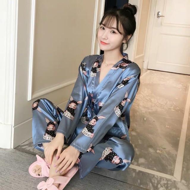 Đồ bộ pijama phi bóng quần dài