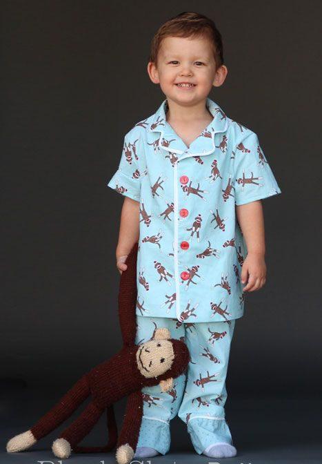 Pijama trẻ em ngắn tay