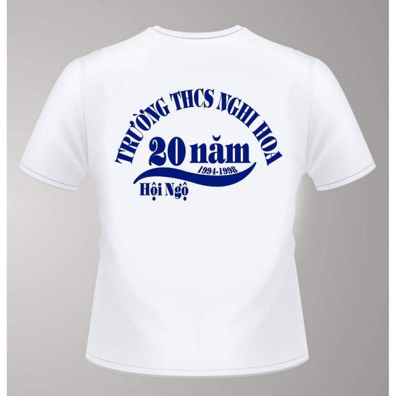 Áo kỷ niệm 20 năm ngày ra trường đơn giản
