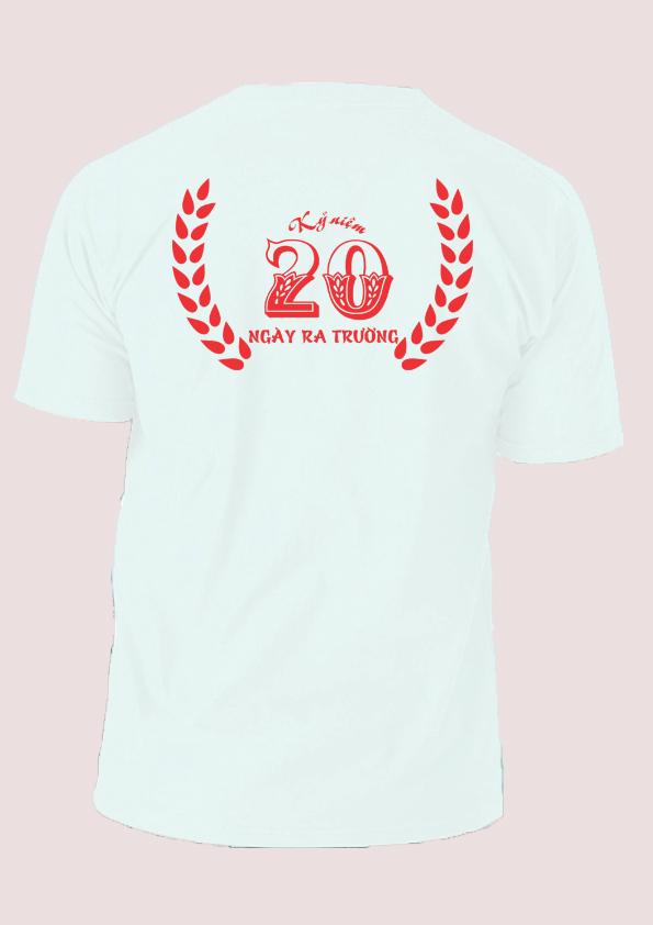 Áo kỷ niệm 20 năm ngày ra trường