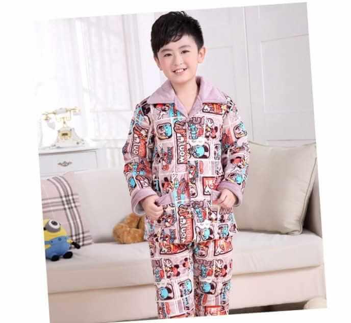 Mẫu pijama bé trai dễ thương