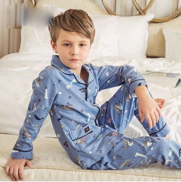Mẫu đồ pijama bé trai