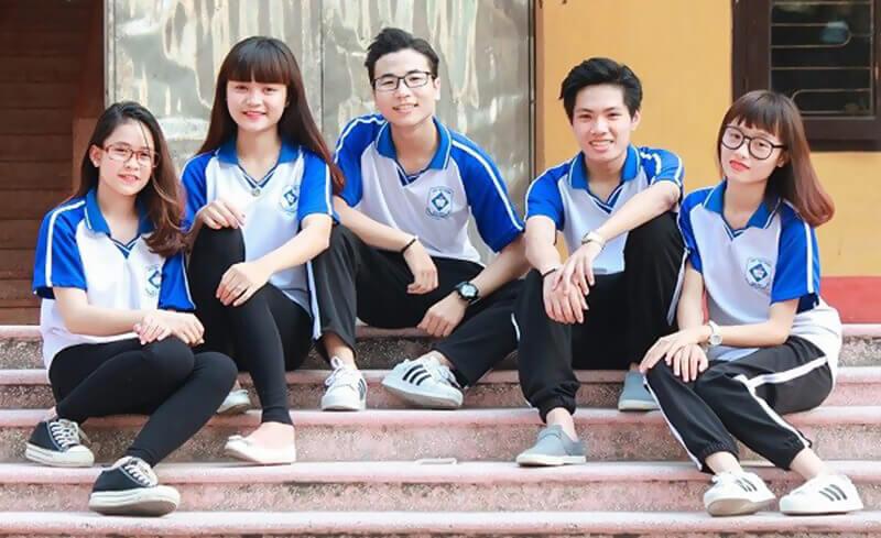 đồng phục thể dục học sinh