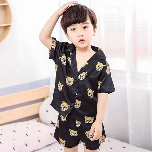 Bộ pijama cộc tay trẻ em
