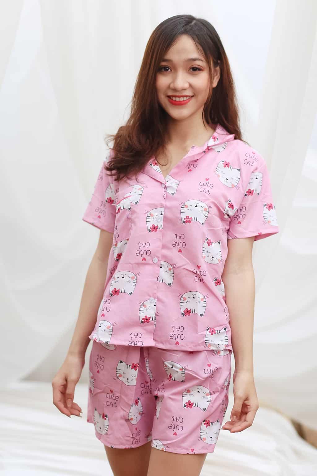Đồ bộ vải kate đẹp tại Hà Nội