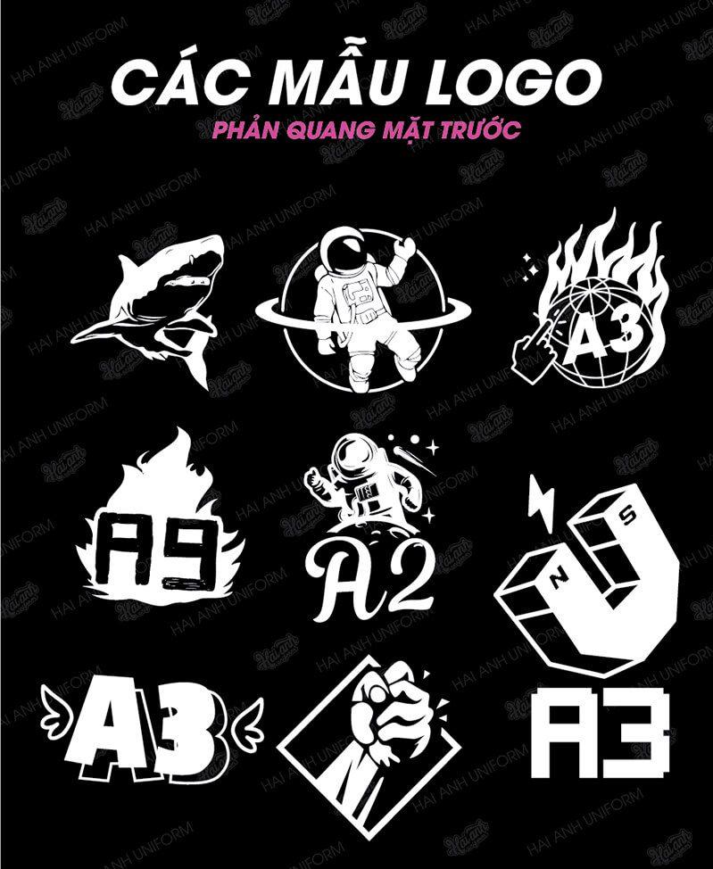 Mẫu logo áo lớp mặc trước