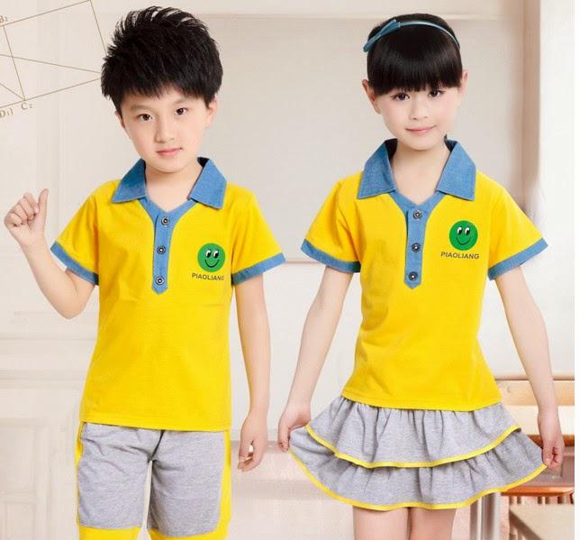 Đồng phục học sinh trường mầm non quốc tế
