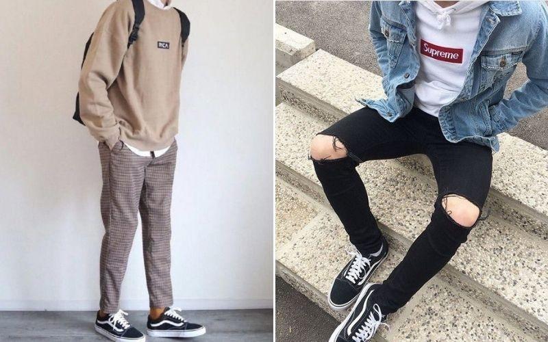 Mặc hoodie sao cho đẹp- Áo hoodie mix quần jean cho nam