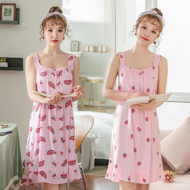 Đầm ngủ vải tole dễ thương