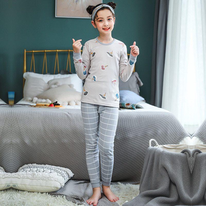 Đồ bộ mặc nhà cho bé gái 12 tuổi cực đẹp