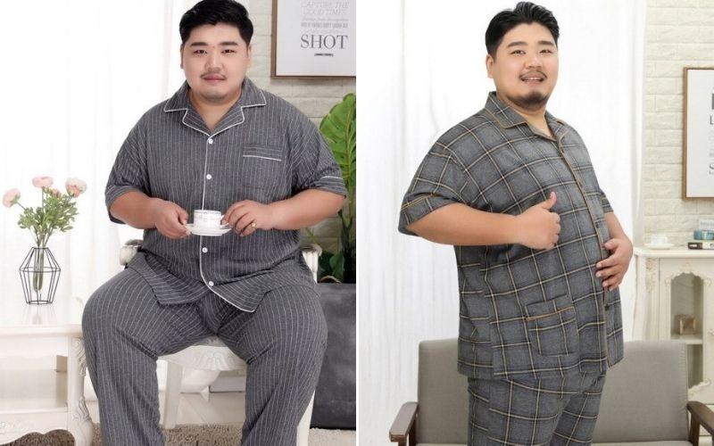 đồ pijama nam big size