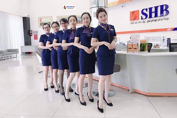 Đồng phục ngân hàng SHB