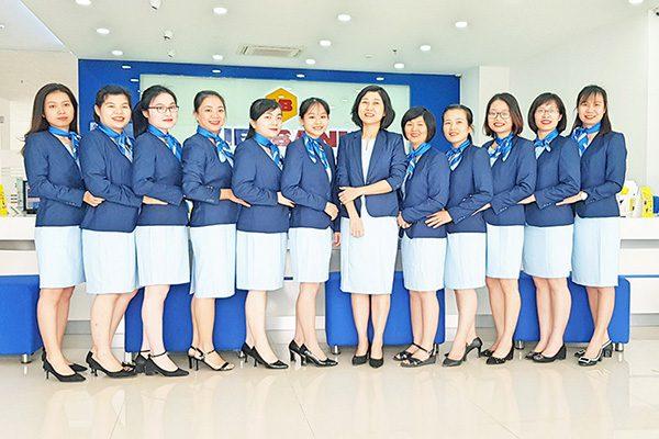 Đồng phục ngân hàng Vietinbank