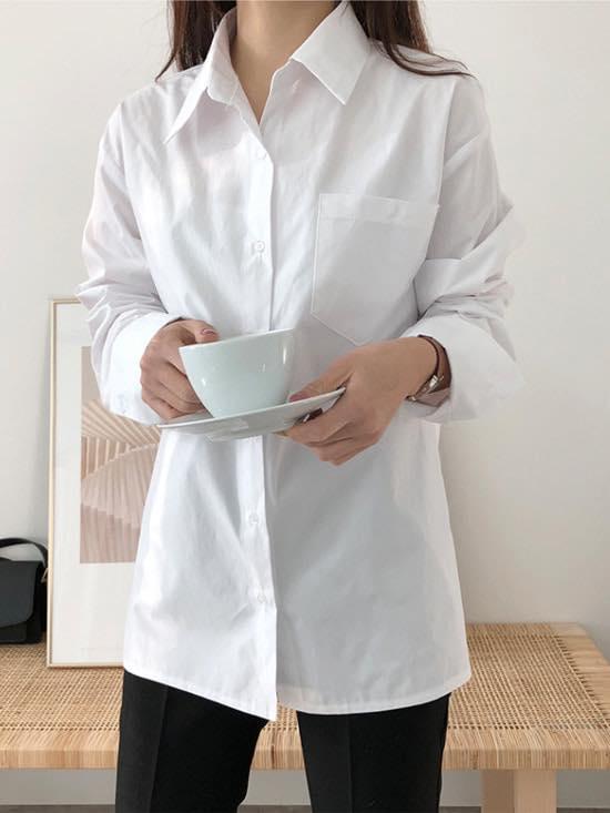 Các kiểu áo trắng học sinh đẹp