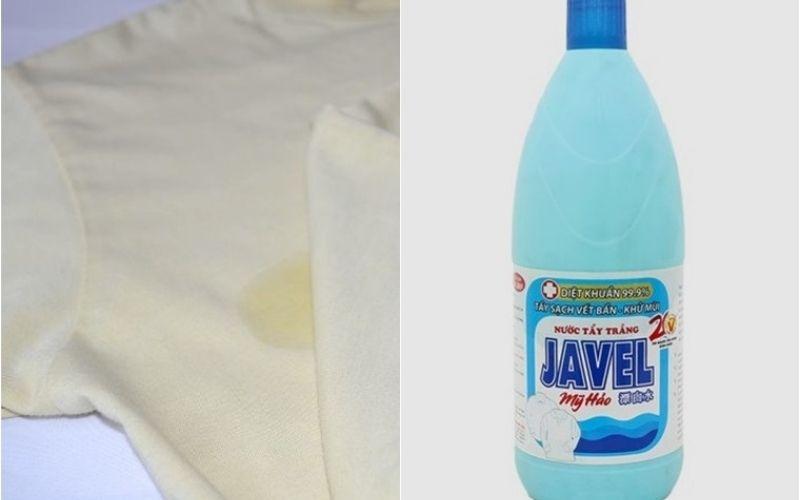 Tẩy trắng bằng nước tẩy Javel