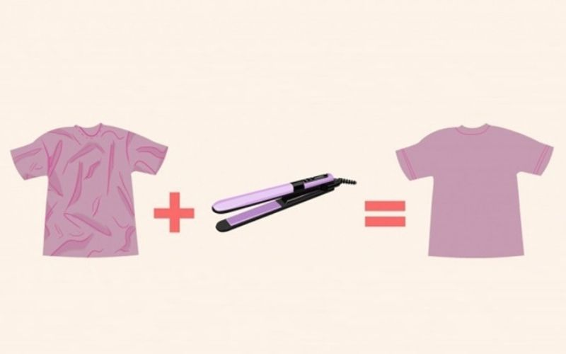 Cách ủi bằng máy tạo kiểu tóc