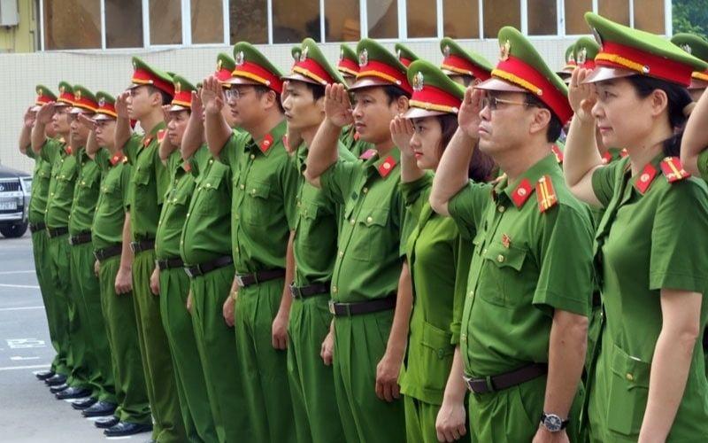 Đồng phục công an nhân dân
