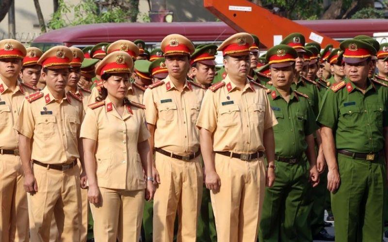 Đồng phục công an nhân dân Việt Nam