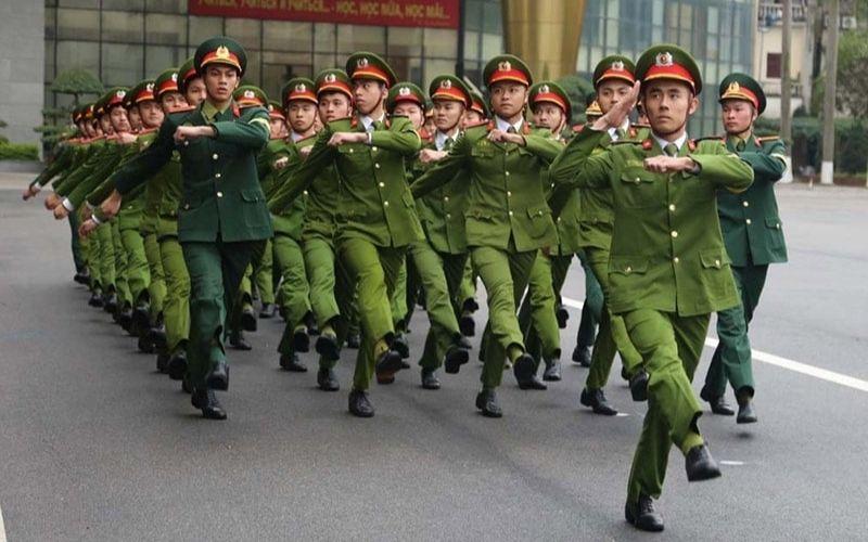 Đồng phục công an an ninh
