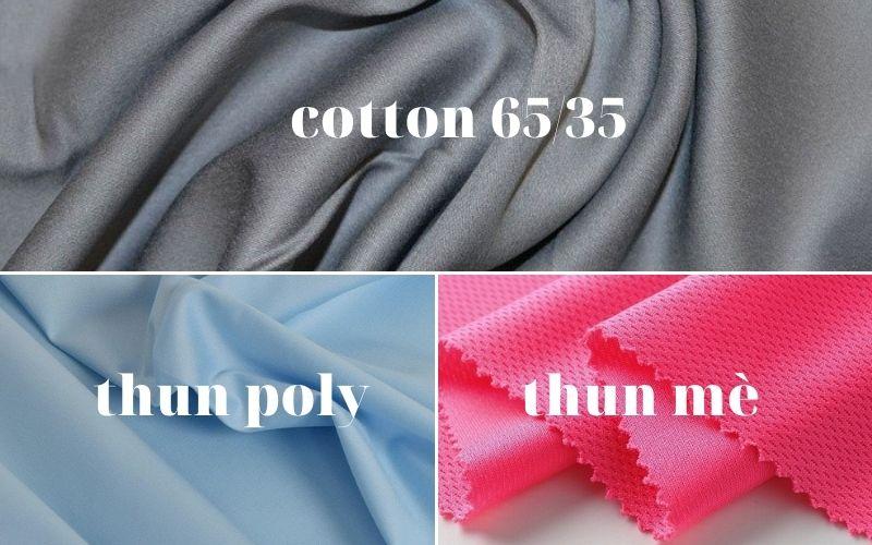 Chất liệu vải may đồng phục CGV