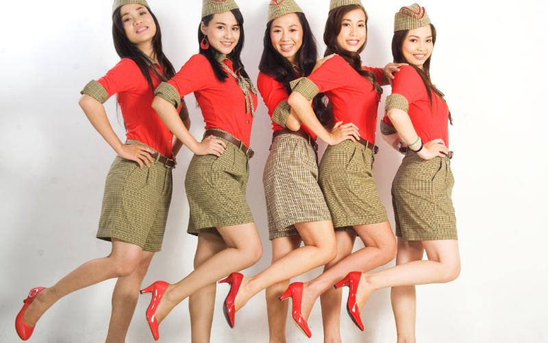 Đồng phục tiếp viên hàng không Vietjet Air