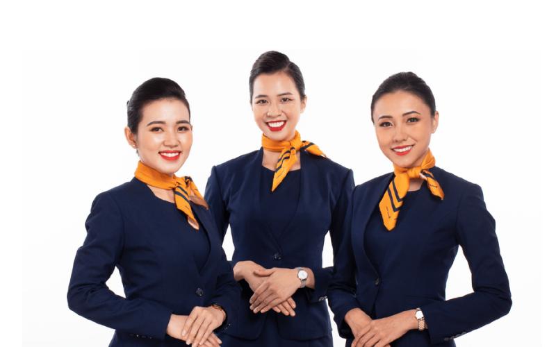 Đồng phục tiếp viên hàng không ở Việt Nam